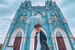 """""""Ngã ngửa"""" trước vẻ đẹp của """"tổ hợp"""" nhà thờ ở Nam Định"""