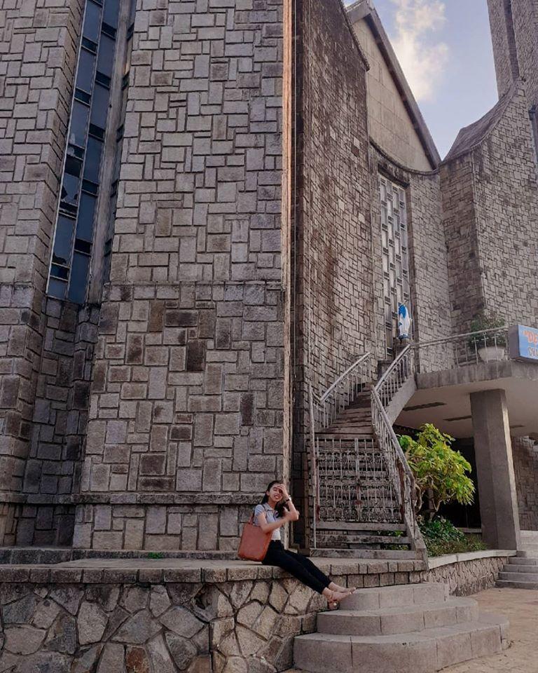 check in tại Nhà thờ Phủ Cam