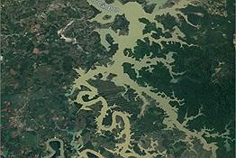 Dân mạng thi nhau tìm dòng sông ở Việt Nam nhìn như chú rồng khổng lồ trên Google Maps