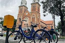 Đi khắp phố phường bằng xe đạp công cộng Mobike lần đầu tiên lăn bánh ở Sài Gòn, giá chỉ 10K/giờ