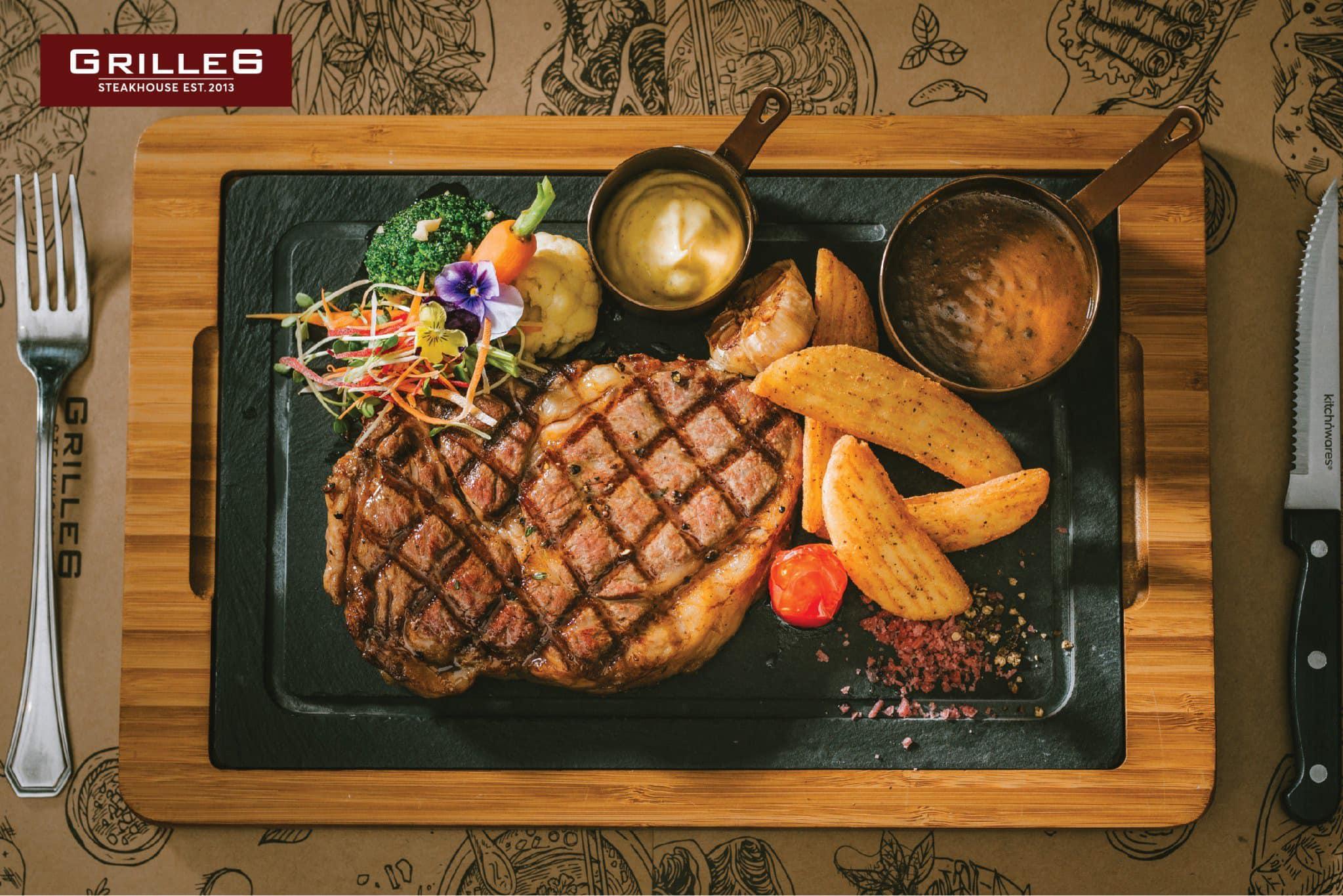 đồ ăn tại  Grill6 Steakhouse