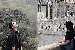 """Cô gái văn phòng gây tranh cãi: Lương 6 triệu đồng check in khắp Việt Nam, mỗi năm vài chuyến Châu Âu """"hóng gió"""""""