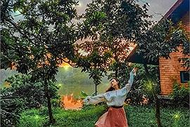 """Nghỉ lễ này """"đi trốn thế gian"""" ở Ngôi làng Nhật Bản nằm ngay gần Hà Nội"""