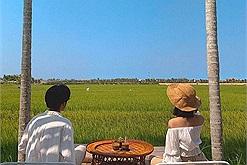 """""""Chill"""" hết nấc tại quán cafe giữa cánh đồng đẹp như Chiangmai đang hot rần rật ở Hội An"""