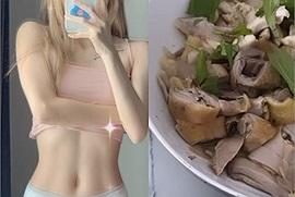 Vừa khoe vòng eo con kiến, Thiều Bảo Trâm ăn mừng luôn bằng suất cơm gà ngon nghẻ làm dân mạng phải thất thanh ăn thế này mà không béo