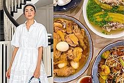 Chỉ cần nhìn món ăn cuối tuần đã biết được lý do khiến Hà Tăng trở thành con dâu nhà tỷ phú, còn bạn thì không