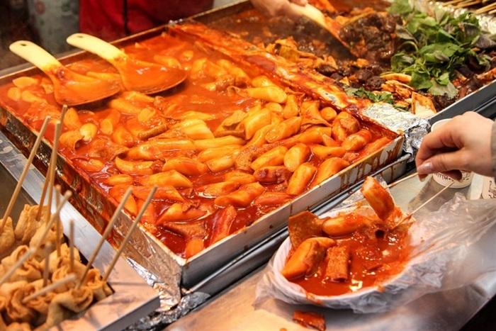 Bánh gạo kiểu Hàn