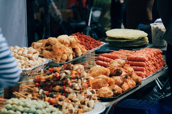 Các món xiên, rán Việt Nam