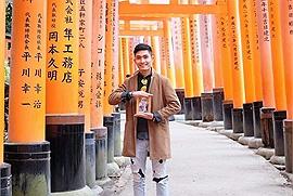 """Xúc động trước bộ ảnh """"Ba Má ơi, mình đi đâu tiếp?"""" của chàng trai Việt đi du lịch khắp Nhật Bản"""