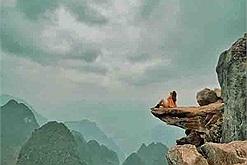 """Sau vụ du khách trượt chân rơi xuống khe đá, """"mỏm đá tử thần"""" trên đèo Mã Pí Lèng bị treo biển cấm"""