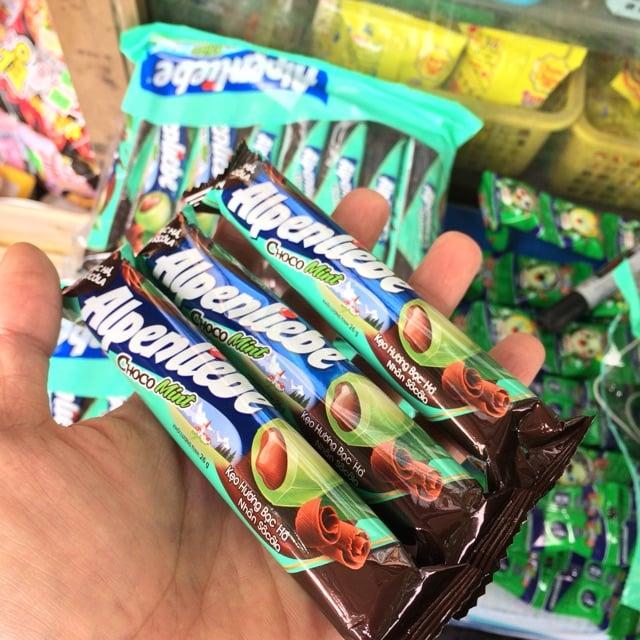 Kẹo Alpenliebe vị choco mint