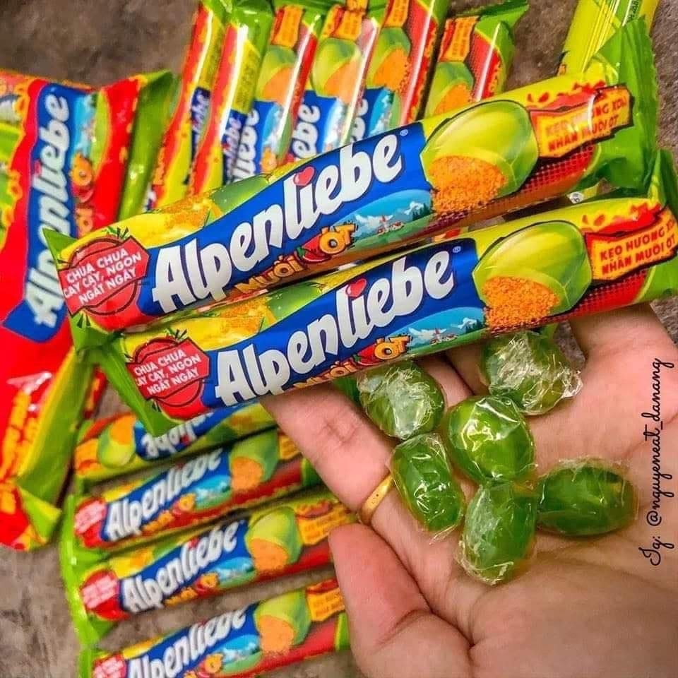 Kẹo Alpenliebe vị muối ớt