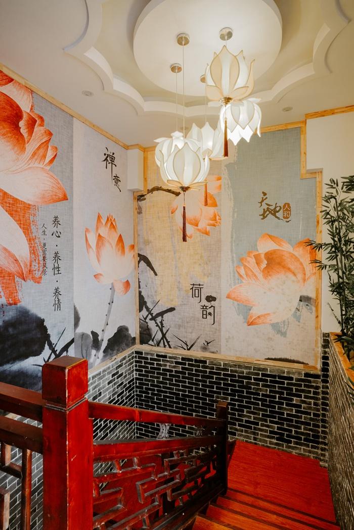 quán mang phong cách Trung Hoa