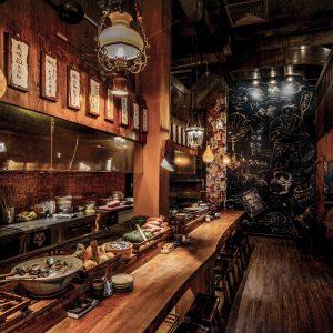 Không gian quán đậm chất Nhật Bản truyền thống