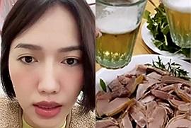 """Có một ngày mà nàng """"lắm chiêu"""" Diệu Nhi đã ăn hết 8 món đặc sản Hà Nội, mục tiêu chính là Kiều Minh Tuấn"""