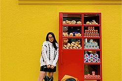 Tiệm bánh cối xay gió nay đã tái xuất cơ sở mới lại còn có thêm chiếc tủ đỏ check in siêu xinh