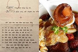 """Thực đơn tiệc cưới """"thời ông bà anh"""" bất ngờ hot trở lại, món ăn tinh tế lại còn thêm văn thơ"""