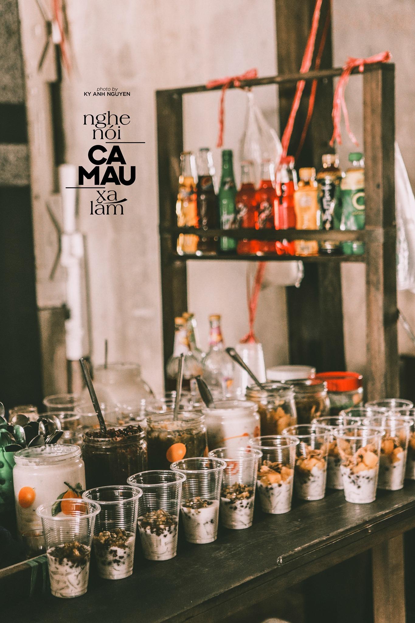 Đồ uống tại Cà Mau