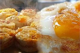Đỉnh của chóp 'bông lan trứng muối bốc khói' ở Đà Lạt khiến hội cuồng ngọt đứng ngồi không yên