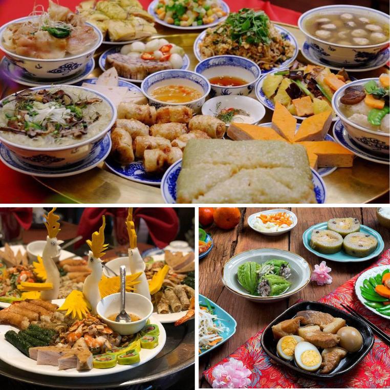 Khác biệt những món ăn trên mâm cỗ ngày Tết 3 miền Bắc Trung Nam