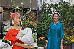 Sao Việt đọ dáng với áo dài Tết: Hà Tăng đội mấn nền nã, Quỳnh Anh Shyn, Sun HT hết trễ vai đến xếp ly điệu đà