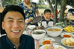 Nhìn mâm cơm Tết của Khoai Lang Thang mới thấy miền Tây ăn cỗ chẳng hề béo