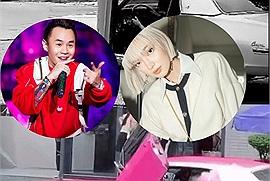 Châu Bùi, Binz chơi Tết kết hợp valentine, lái xe cổ tiền tỷ vi vu khắp Sài Gòn