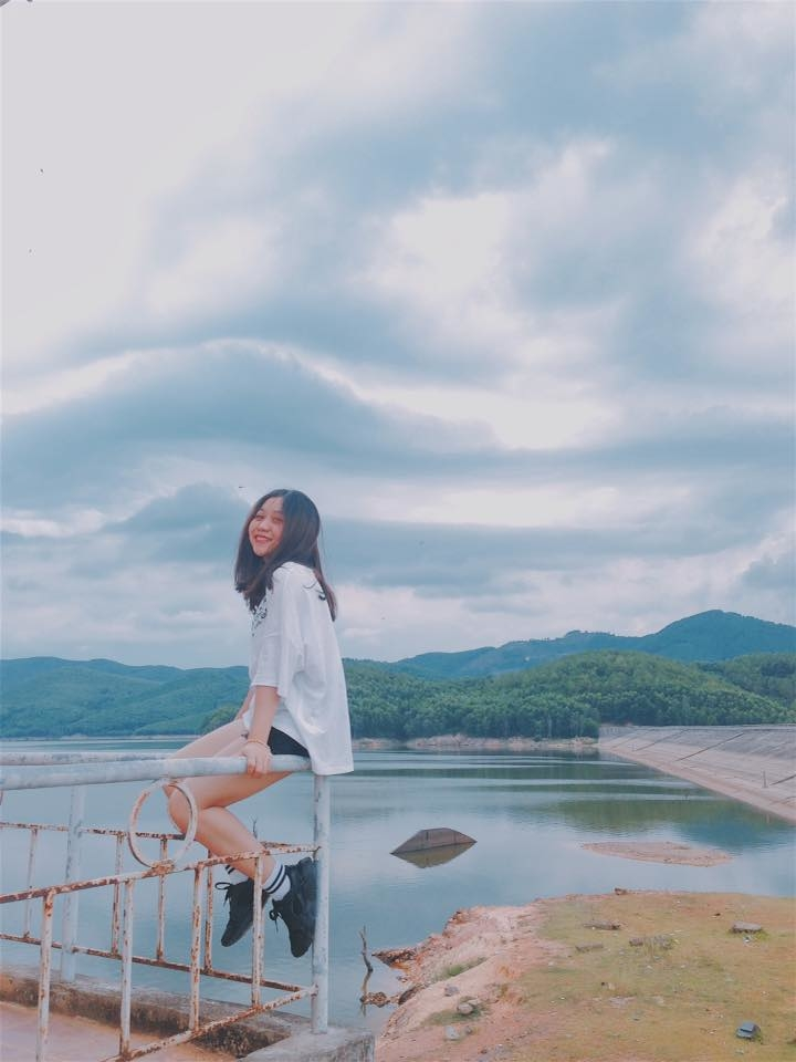 check in tại Hồ Khe Ngang