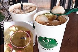 """Khách hàng tố đồ uống của Phúc Long Saigon Centre có """"con bọ"""" bên trong, nhân viên thái độ lồi lõm không xin lỗi"""