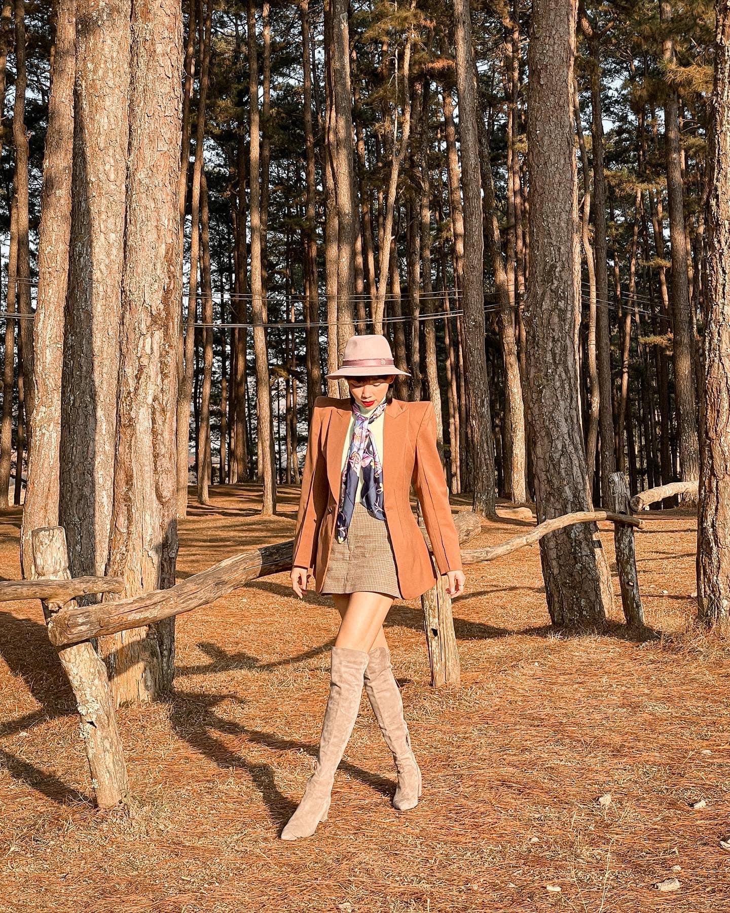 Đi Camping cũng không quên high fashion