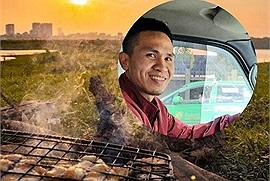 """Ước mơ của """"người hùng"""": Mua được xe 7 chỗ để đưa cả nhà đi ăn thịt nướng, câu cá ở chân cầu Vĩnh Tuy"""