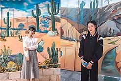 Làng bích hoạ Hòn Thiên - Toạ độ sống ảo mới toanh tại Ninh Thuận