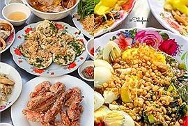 Lượn 1 vòng các khu chợ nổi tiếng Sài Gòn ăn no căng bụng chẳng đến 200K