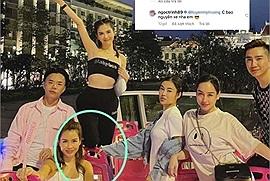 Ơ sao Ngọc Trinh lại thản nhiên đứng lên ghế, bật champagne ăn uống tưng bừng trên xe buýt 2 tầng công cộng đi quanh Sài Gòn?