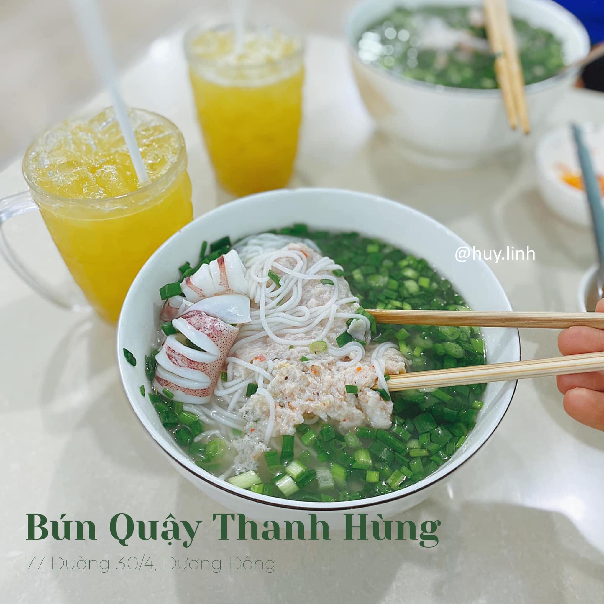 Bún quậy Thanh Hùng