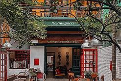Ngỡ ngàng những quán cafe được thiết kế chẳng khác gì vườn thượng uyển giữa lòng thủ đô