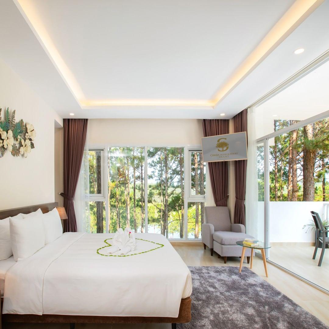 Cereja Hotel & Resort Đà Lạt Resort 4 sao bên Hồ Tuyền Lâm