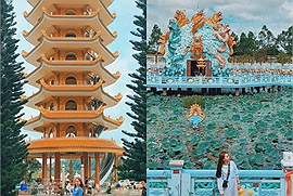 """Lưu lại ngay 4 ngôi chùa nổi tiếng ở An Giang, chỉ cần đưa máy lên là có ngay bộ ảnh đẹp """"để đời"""""""