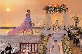 """Hoàng hôn Phú Quốc đẹp đến mức nào mà từ show diễn thời trang của NTK nổi tiếng, các đêm nhạc rầm rộ đến những đám cưới khủng Vbiz đều """"một mực"""" phải tổ chức ở đây?"""