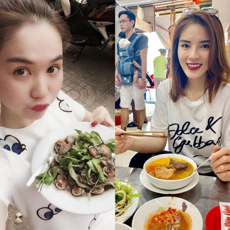 Nổi tiếng cỡ như Trấn Thành, Ngọc Trinh thì cũng không thiết giữ hình tượng khi đến 6 quán ăn vặt đỉnh chóp Sài Gòn này