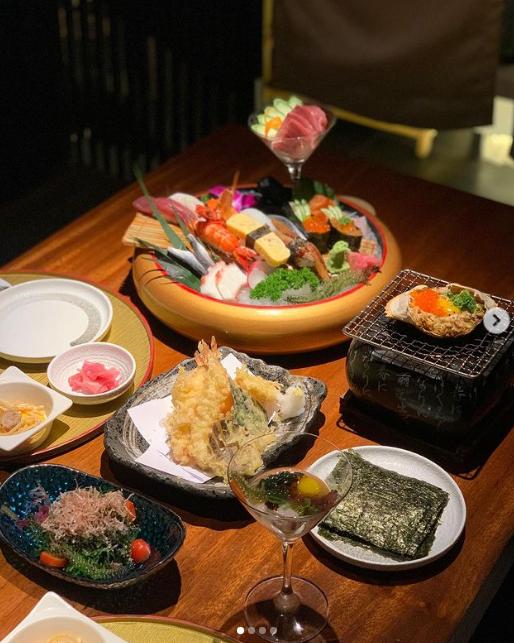 Những món ăn làm nên thương hiệu Nhân Sushi