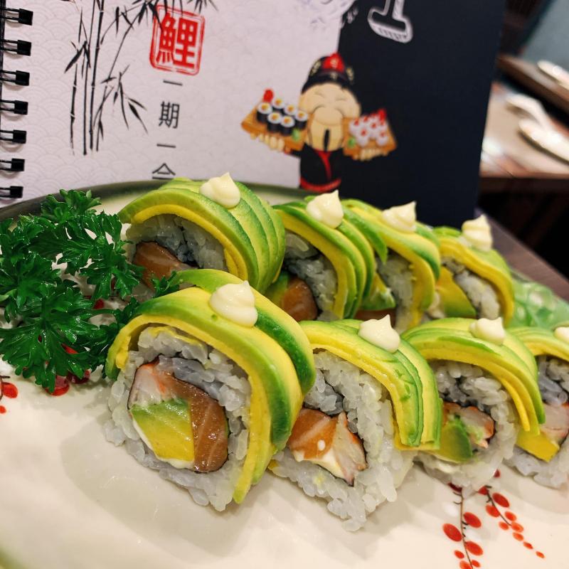 Món ăn luôn được bày trí chuẩn Nhật, tinh tế và đẹp mắt