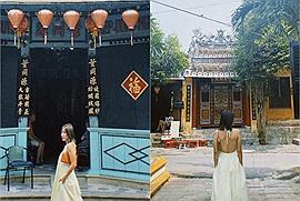 Văn Mai Hương sự nghiệp lên hương, sắc vóc ngày càng đẹp, hóa nàng thơ giữa phố Hội