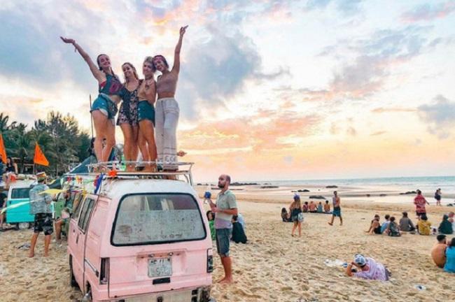 Trải nghiệm Coco Beach cùng những người bạn