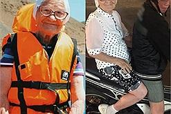 Cụ bà 91 tuổi người Nga du lịch hàng chục quốc gia, gây bão cộng đồng mạng khi đến Việt Nam ngồi xe máy cực chất