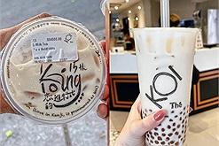 KOI Thé 'big size' lần đầu ra mắt tín đồ mê trà sữa khiến dân tình 'xỉu up xỉu down'