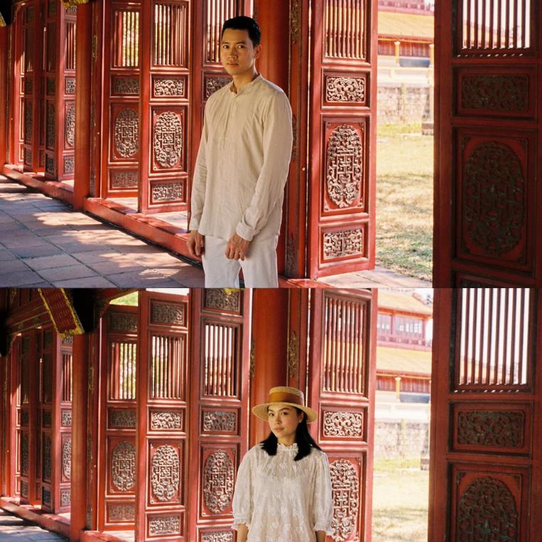 """Đi du lịch không có ảnh đôi, về nhà đã có các thánh photoshop giúp """"không hề giả trân"""" như cặp Hà Trúc - Quang Đạt đây"""