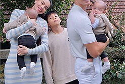 Hồ Ngọc Hà đưa Lisa, Leon, Subeo đi Đà Lạt, 2 nhóc sinh đôi biểu cảm dễ thương còn Subeo lại không hợp tác chụp hình vì