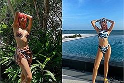 """Quỳnh Anh Shyn du lịch Bình Thuận: Check-in resort sang chảnh, khoe dáng 'chặt chém' khiến dân tình phải """"quắn qéo"""""""