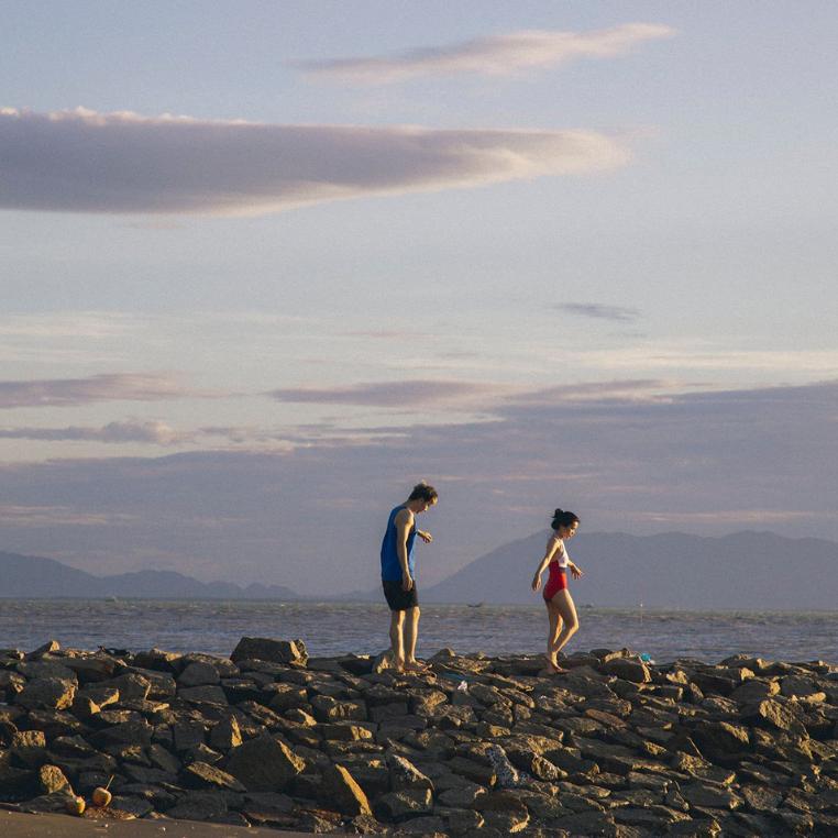 Checkin-holic 2: Biển Cần Giờ yên ắng và những thước phim sống ảo của đôi ta